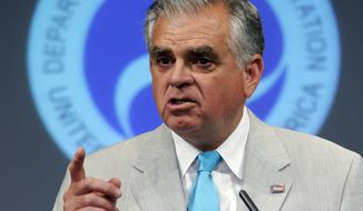 ** FILE ** Transportation Secretary Ray LaHood (AP Photo/Susan Walsh)