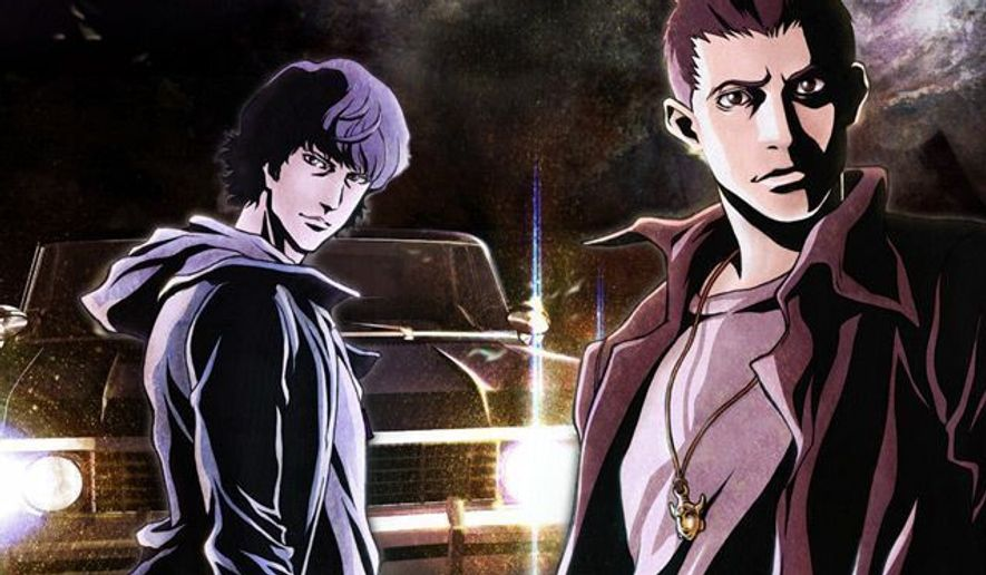 Sam and Dean Winchester star in Supernatural: The Anime Series from Warner Home Video.