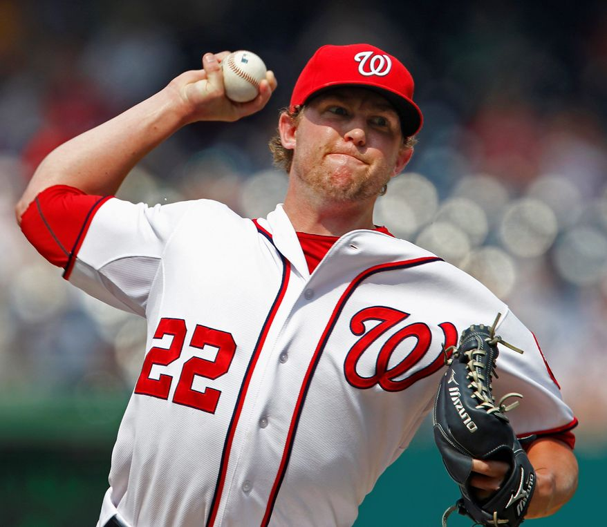 ASSOCIATED PRESS With trade rumors swirling, Drew Storen blew a save opportunity but picked up the win when the Nationals rallied in the ninth to beat the Mets 3-2.