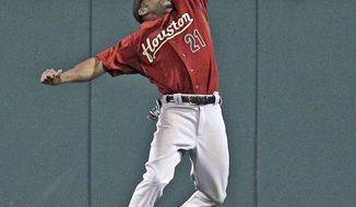 ASSOCIATED PRESS Center fielder Michael Bourn, acquired by Atlanta from Houston on Sunday, leads the majors with 39 stolen bases.