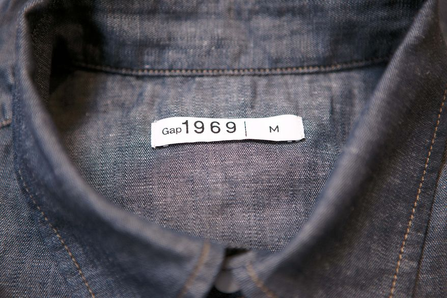 ASSOCIATED PRESS PHOTOGRAPHS Gap Inc. is building its campaign around one of its proven strengths: jeans. A series of about 30 short documentary-style videos will show designers talking about what it takes to create the 1969 denim line.