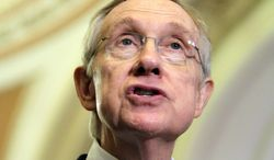 Sen. Harry Reid, Nevada Democrat, is the Senate majority leader.