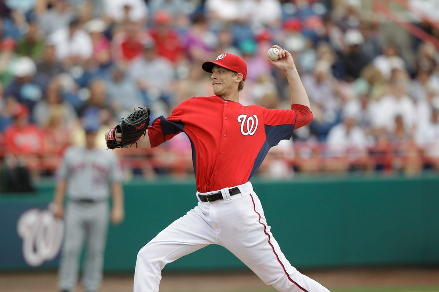 ASSOCIATED PRESS Nationals left-hander Ross Detwiler figures to get a long look as a starter during the last two months of the season.