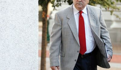 ASSOCIATED PRESS Retired police Sgt. Arthur Kaufman, charged with covering up the deadly shootings of civilians on the Danziger Bridge in the aftermath of Hurricane Katrina, enters federal court on Monday in New Orleans.