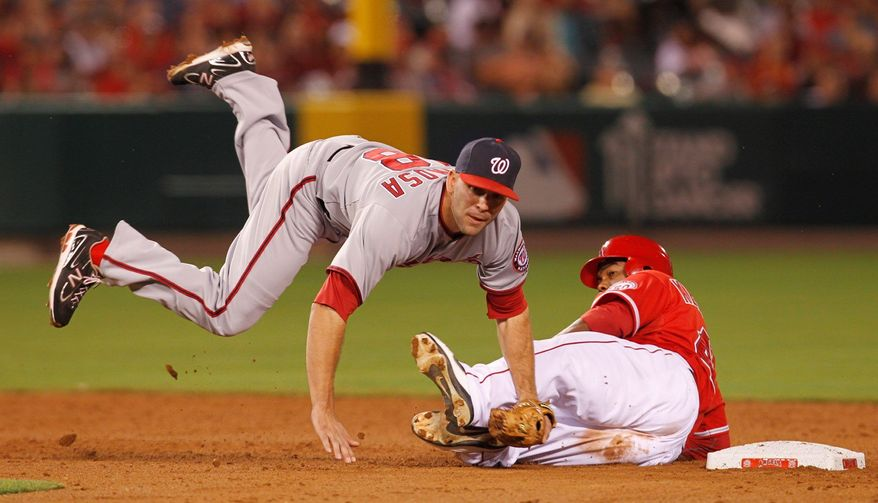 "associated press Washington second baseman Danny Espinosa is ""maybe pound-for-pound the strongest guy on the team,"" says Nationals manager Davey Johnson."