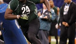 **FILE** Redskins defensive end Jarvis Jenkins was drafted 41st overall out of Clemson in April. (Associated Press)