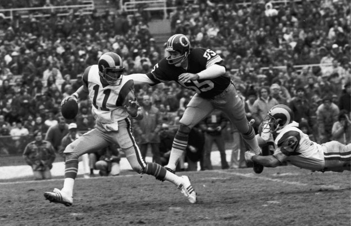 An 18th-round draft pick in 1965, Chris Hanburger was a nine-time Pro Bowl linebacker for the Redskins and an integral part of George Allen's defenses in the 1970s. (Associated Press)