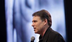 Texas Gov. Rick Perry's planned participation in a prayer event on Saturday has set off come carping. (Associated Press)