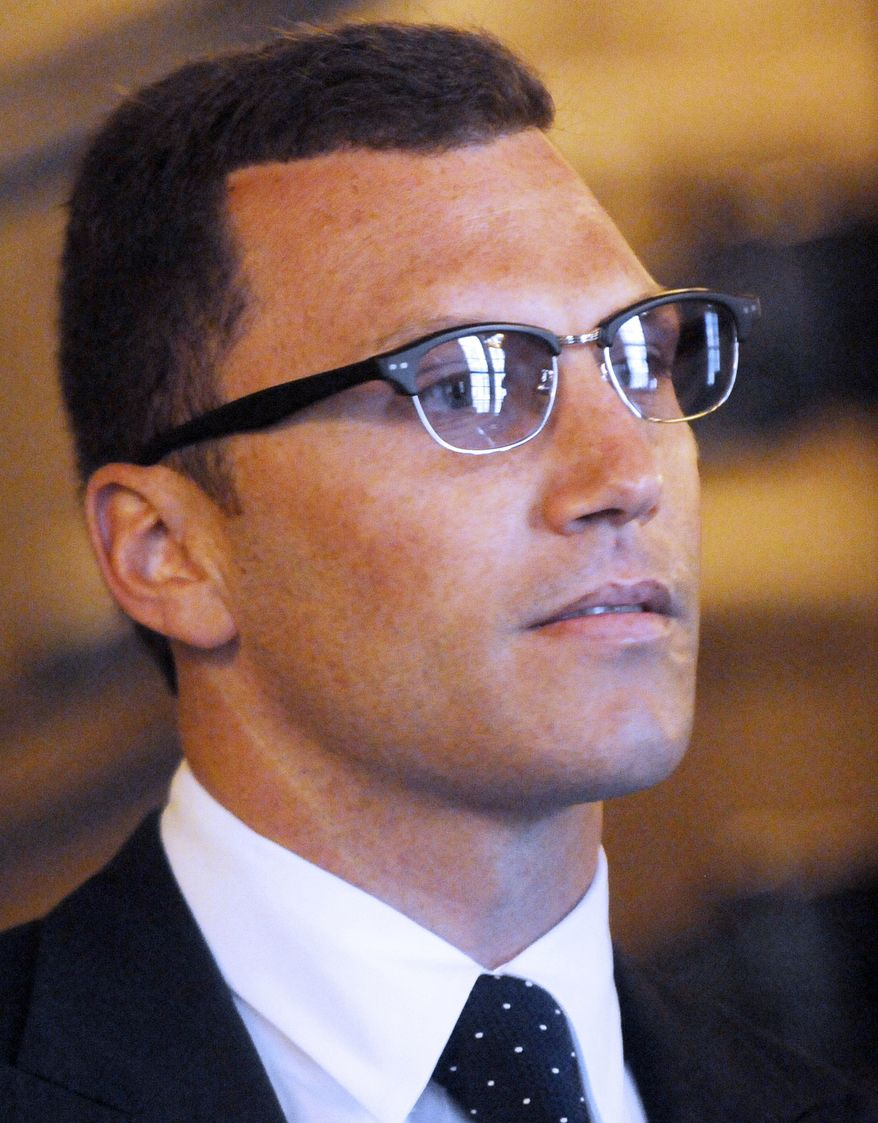 New York Rangers forward Sean Avery has been arrested in California after police claim he shoved an officer at his Hollywood Hills home. Lt. Jorge Pardo tells City News Service that a neighbor's noise complaint sent police to the home at around 1 a.m. on Friday. He was released on $20,000 bail. (AP Photo/Hans Pennink, File)