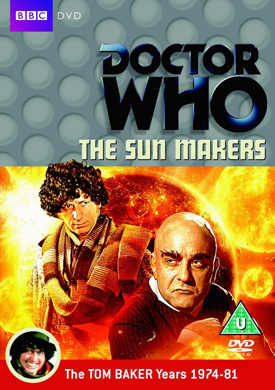 """Doctor Who Classic: The Sunmakers"" the DVD collection is being released by BBC/Warner Home Video. (BBC/Warner Home Video)"
