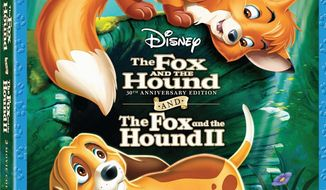 """The Fox and the Hound 2"" 30th Anniversary Combo Pack has been released by Disney Home Video. (Disney Home Video)"