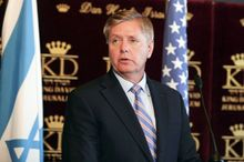 """""""The tea party hasn't destroyed Washington. Washington was destroyed before the tea party got here. The hope is that the tea party and middle-of-the-road people can find common ground to turn this country around before we become Greece."""" -- Sen. Lindsey Graham, South Carolina Republican, said on CBS' """"Face the Nation."""" (Associated Press)"""