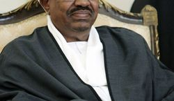 ** FILE ** The International Criminal Court has issued an arrest warrant for Sudanese President Omar Bashir on charges of war crimes and genocide in Darfur. He has denied the charges. (Associated Press)