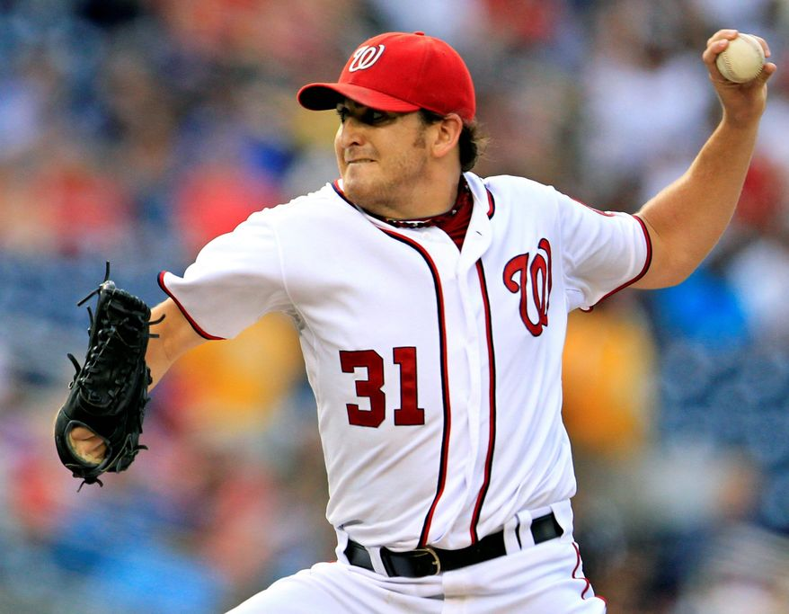 associated press Nationals starter John Lannan has had to learn how to stay mentally focused and trust his best stuff.