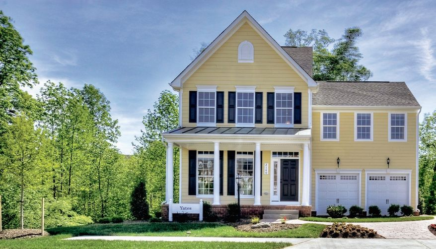 Ryan Homes is building 62 single-family homes on 5,000-square-foot sites at the Village of Idlewild in Fredericksburg. The Yates model, with 2,290 square feet, is priced from $309,990.