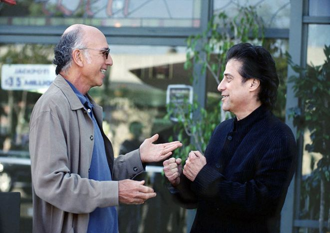 """Larry David and Richard Lewis in """"Curb Your Enthusiasm"""". (HBO)"""