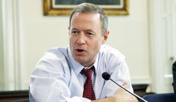 **FILE** Maryland Gov. Martin O'Malley (Associated Press)