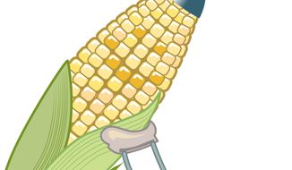 Illustration: Ethanol by Linas Garsys for The Washington Times
