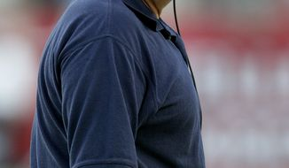 New England Patriots head coach Bill Belichick during an NFL preseason football game against the Tampa Bay Buccaneers Thursday, Aug. 18, 2011 in Tampa, Fla. (AP Photo/Margaret Bowles)