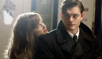 "A sociopath (Sam Riley) and a woman looking for ""a life"" (Andrea Riseborough) forge a twisted relationship in ""Brighton Rock."" (IFC Films via Associated Press)"