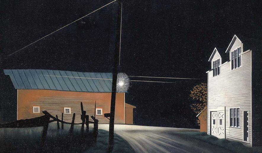 """The exhibit: """"George Ault and 1940s America"""" will be at the Smithsonian American Art Museum through Sept. 5"""