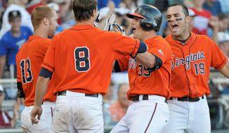 Ranked No. 1 for much of the season, Virginia baseball lost to South Carolina in the College World Series in June. (Associated Press)