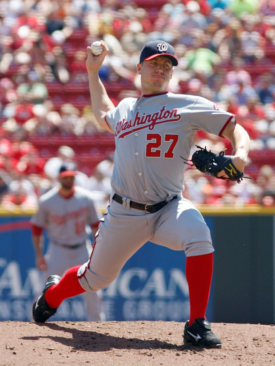 associated press Jordan Zimmermann reached his pitched limit for the season after 4  1/3 innings Sunday.