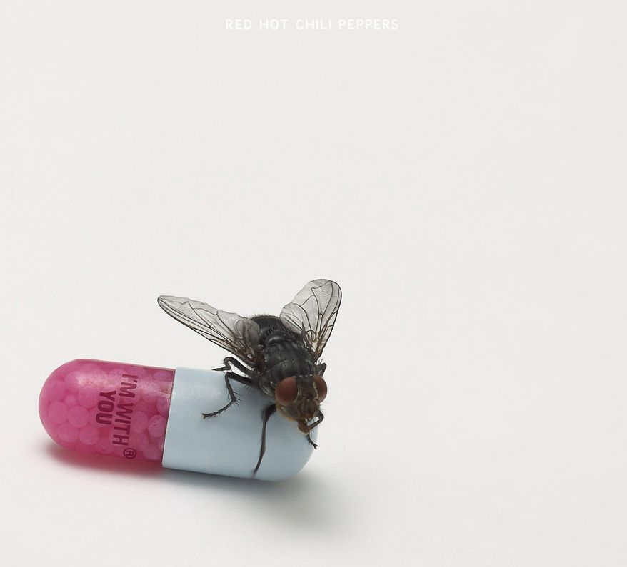 "Album cover for Red Hot Chili Peppers ""I'm With You"". (Warner Bros.)"