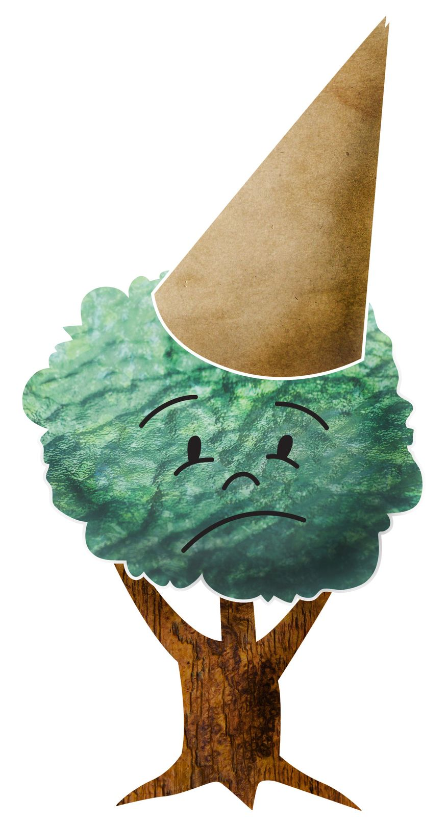 Illustration: Green dunce by Greg Groesch for The Washington Times