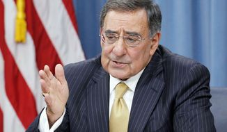 **FILE** Defense Secretary Leon E. Panetta (Associated Press)