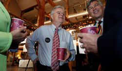 Republican presidential hopeful Buddy Roemer.