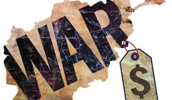 Illustration: Afghanistan cost by Greg Groesch for The Washington Times