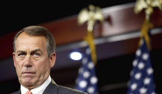 House Speaker John A. Boehner (Rod A. Lamkey/The Washington Times)