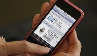 Smartphone (Associated Press)