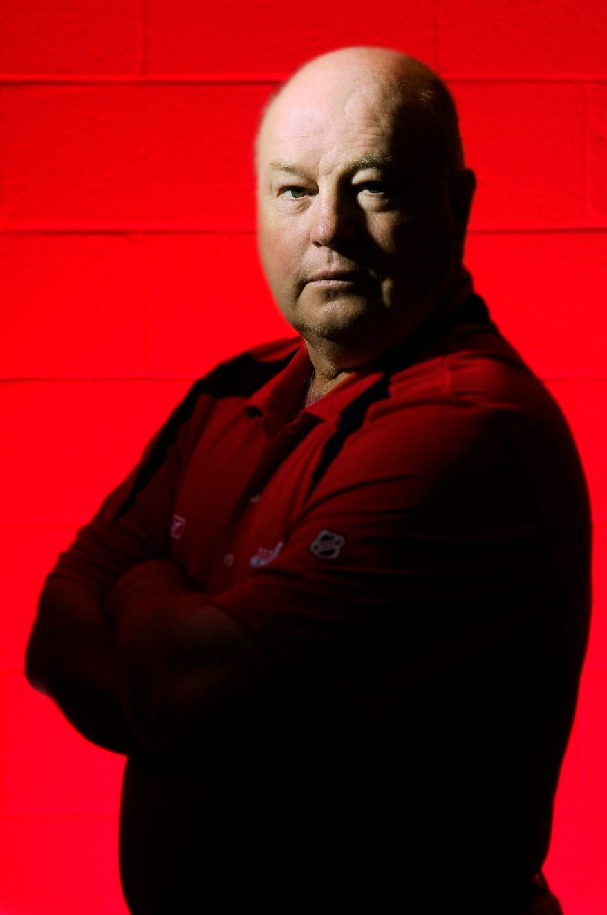 Bruce Boudreau was not yet coach of the Washington Capitals when he was set  to travel on one of the planes that was flown into the World Trade Center. A change in plans kept him off the flight. Ace Bailey, a hockey team scout and a good friend, died on the flight. (The Washington Times)