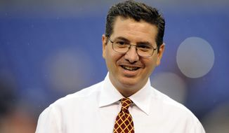 Washington Redskins owner Daniel Snyder has dropped his defamation lawsuit against Washington City Paper and one of its writers. (AP Photo/Nick Wass)