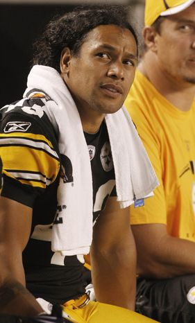 The Pittsburgh Steelers agreed to a contract extension with 30-year-old safety Troy Palamalu on Saturday. (AP Photo/Keith Srakocic)