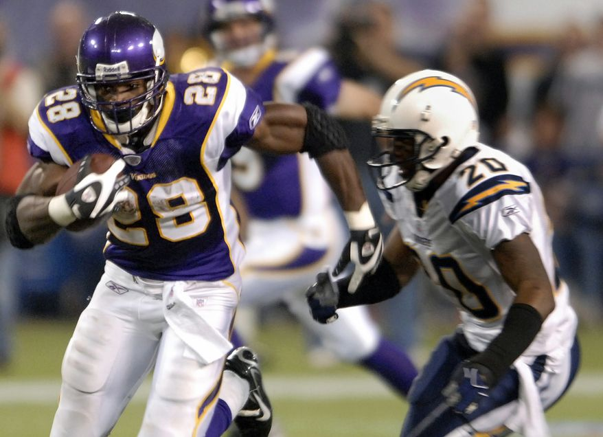 The Minnesota Vikings agreed to a seven-year contract extension with Adrian Peterson on Saturday. (AP Photo/Tom Olmscheid, File)