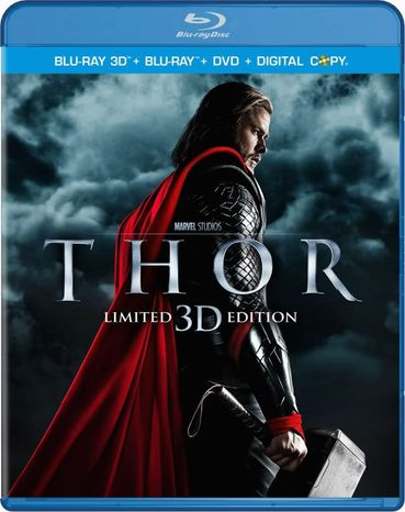 "DVD cover for ""Thor"" released by Paramount Home Entertainment"