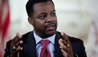 D.C. Council Chairman Kwame R. Brown (T.J. Kirkpatrick/The Washington Times)