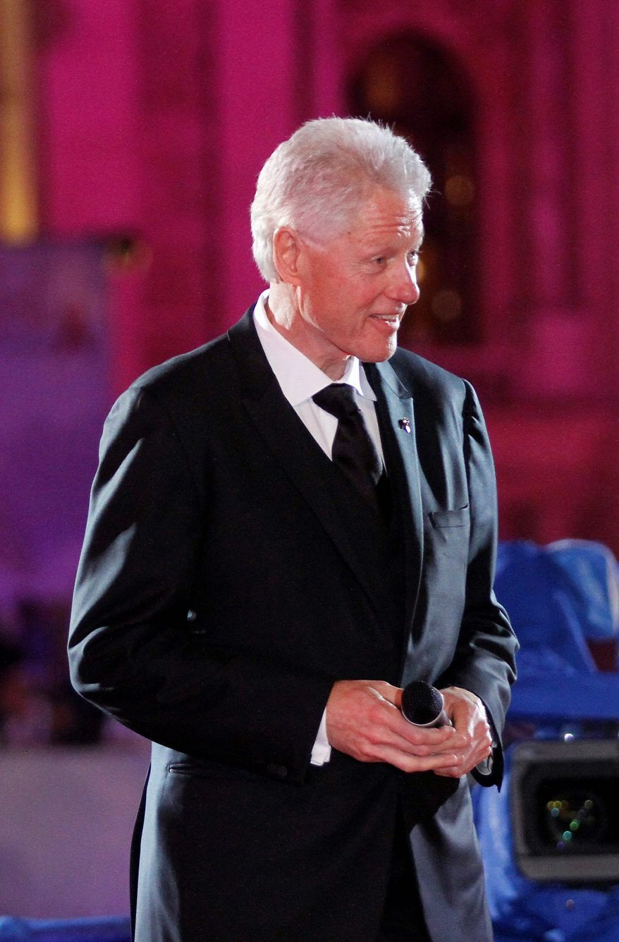"Friends and assorted celebrities will help celebrate ""A Decade of Difference"" with former President Clinton in October. The event is part birthday bash, part fundraiser for his foundation. (Associated Press)"