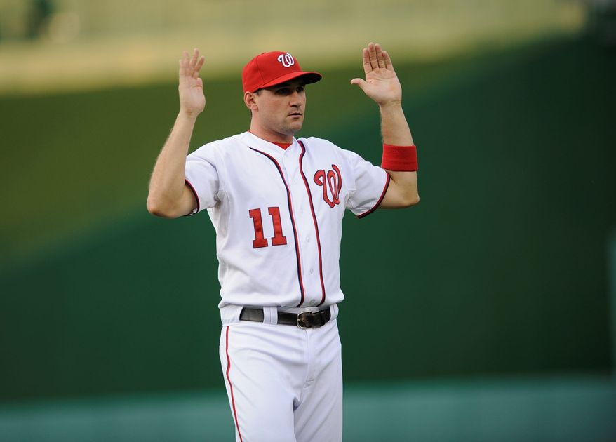 Nationals third baseman Ryan Zimmerman has committed just six errors since returning to the active roster June 14. (Associated Press)