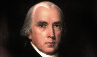 "James Madison is known as the ""Father of the Constitution."" (Photograph provided by the Montpelier Foundation) **FILE**"