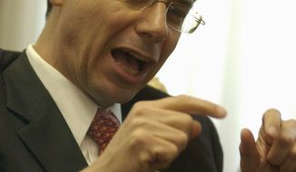 **FILE** Israeli Deputy Foreign Minister Daniel Ayalon (The Washington Times)