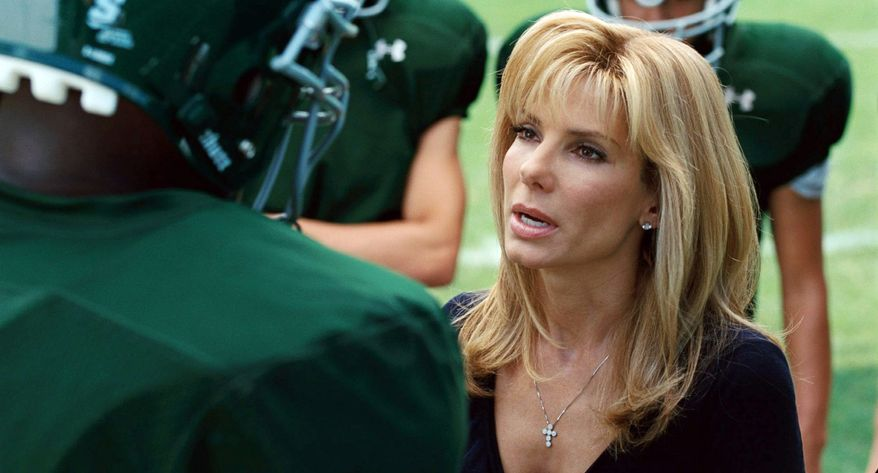 """""""The Blind Side"""" from 2009, starring Sandra Bullock, gives a more balanced view of the state, with sympathetic characters both black and white. (Warner Bros. via Associated Press)"""