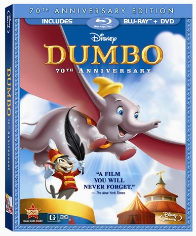 "DVD for ""Dumbo:70th Anniversary Edition"" released by Buena Vista/Disney Home Vi"