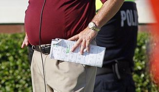 ** FILE ** In this Saturday Sept. 10, 2011, file photo, Virginia Tech coach Frank Beamer watches from the sideline during the second half of an NCAA college football game against East Carolina in Greenville, N.C. (AP Photo/Karl DeBlaker, File)