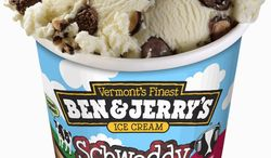 A new flavor of Ben & Jerry's ice cream called Schweddy Balls, based on a SNL comedy skit, is causing quite a stir among parents. (Provided by Ben & Jerry's)