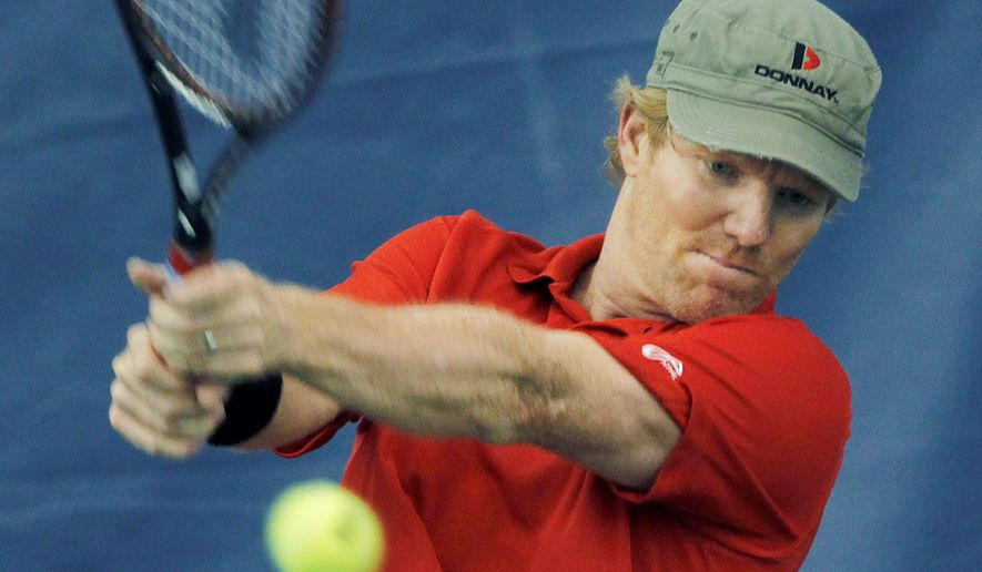 Jim Courier won four Grand Slam titles - two each in the Australian Open and French Open. (Associated Press)