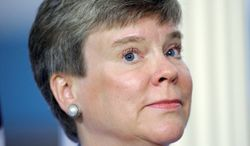 "Rose Gottemoeller, assistant secretary of state for verification, has said that ""we are committed to continuing a step-by-step process to reduce the overall number of nuclear weapons."" (Associated Press)"